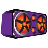Loud speakers, sound, dj staffs Stock Photo