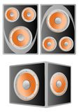 Loud speakers Royalty Free Stock Photo