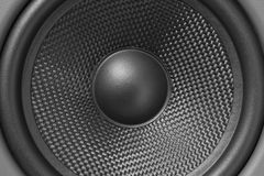 Louder. Speaker Cone for backgroud or items about music/sound Royalty Free Stock Photography