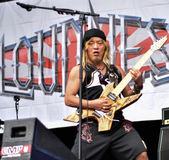 Loudness metal band live concert 2016, Hellfest festival Royalty Free Stock Photos