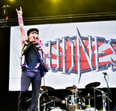 Loudness metal band live concert 2016, Hellfest festival Royalty Free Stock Image