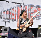 Loudness metal band live concert 2016, Hellfest festival Stock Photo