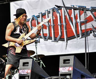 Loudness metal band live concert 2016, Hellfest festival Stock Images