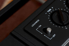 Loudness switch. Royalty Free Stock Photo