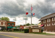 Loudon Historic District royalty free stock image