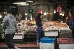 Loudong-Markt, Taiwan lizenzfreie stockfotos
