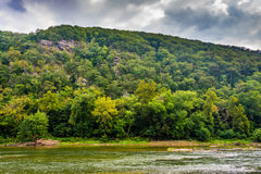 Loudoun Heights And The Shenandoah River, In Harper S Ferry, Wes Royalty Free Stock Photography