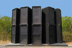 Loudspeaker. Royalty Free Stock Images