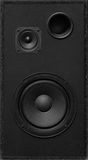 Loudspeaker. 2-way loudspeaker with bass reflex Stock Photography