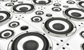Loudspeaker array Stock Photos