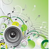 Loudspeaker background Royalty Free Stock Image