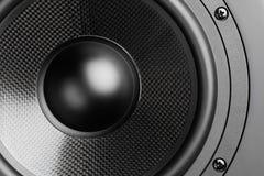 Loudspeaker background Stock Image