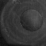 Loudspeaker background. Close up shot royalty free stock photography