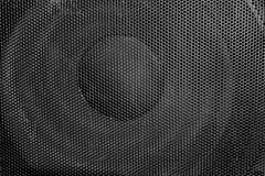 Loudspeaker background. Close up shot royalty free stock image