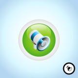 Loudspeaker Button Stock Photos