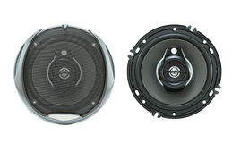Loudspeaker for Car Audio. Car Loudspeaker for Car Audio on isolated royalty free stock images