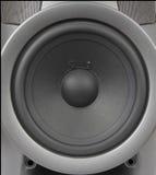 Loudspeaker Close-up. Woofer Loudspeaker Close-up stock image