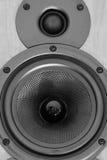 Loudspeaker closeup Stock Images