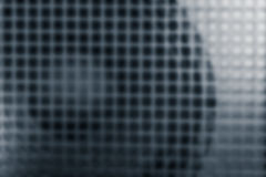 Loudspeaker and grille, as abstract blur background of Power Amp Royalty Free Stock Image