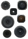 Loudspeaker isolated stock photography