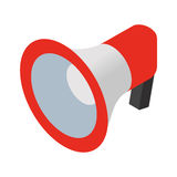 Loudspeaker isometric icon Stock Photo