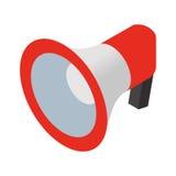 Loudspeaker isometric icon. Isolated on white background royalty free illustration