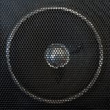 Loudspeaker lattice Royalty Free Stock Image