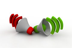Loudspeaker or megaphone icon Royalty Free Stock Photography