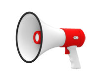 Loudspeaker or Megaphone Isolated Royalty Free Stock Photography