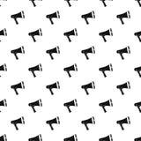 Loudspeaker pattern, simple style Stock Image