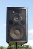 Loudspeaker in play Stock Image