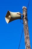 LoudSpeaker Pole Announcements Stock Photography