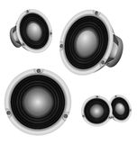 LoudSpeaker professional power speaker vector design Stock Photos