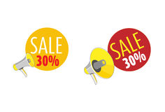 Loudspeaker of sale Royalty Free Stock Photography
