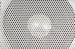 Loudspeaker Texture Detail. Close-up royalty free stock images