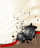 Loudspeaker theme Royalty Free Stock Images