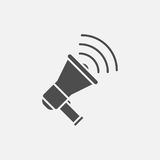 Loudspeaker vector icon Royalty Free Stock Images
