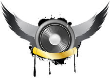 Loudspeaker Wing Royalty Free Stock Photography