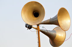 Loudspeakers Stock Photography
