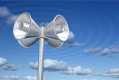 Loudspeakers Royalty Free Stock Images