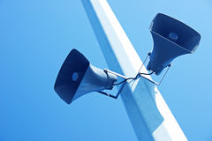 Loudspeakers Royalty Free Stock Photos