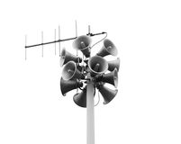 Loudspeakers Stock Photo