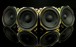 loudspeakers Imagem de Stock Royalty Free