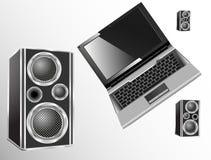 Loudspeakers Royalty Free Stock Images