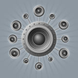 Loudspeakers Stock Image