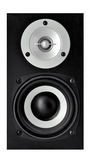 Loudspeakers on white background Stock Images