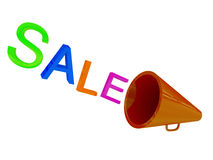 loudspeakr πώληση Στοκ Εικόνες