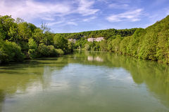 Loue River Royalty Free Stock Images