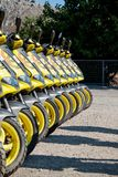 Louez un scooter photos libres de droits