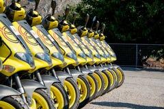 Louez un scooter photo stock